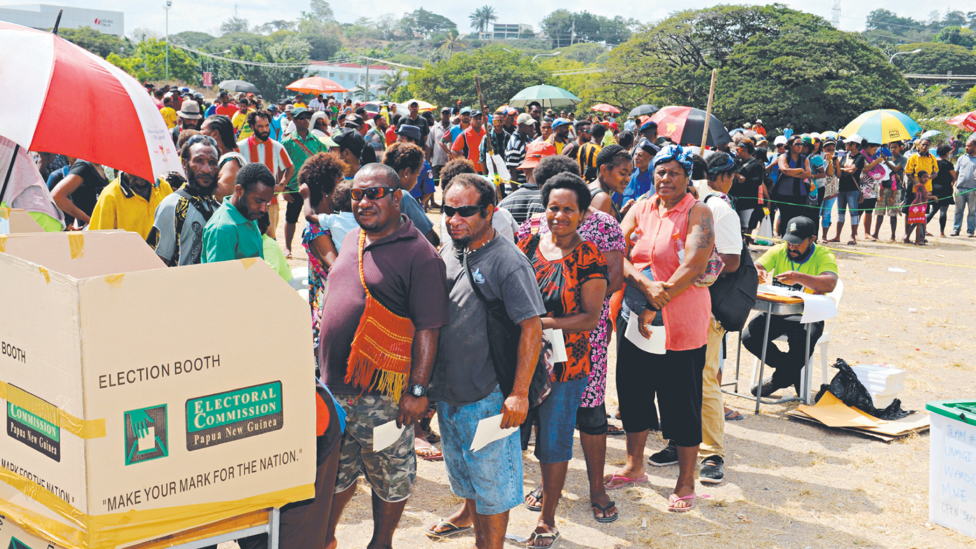 Papua New Guinea elections end