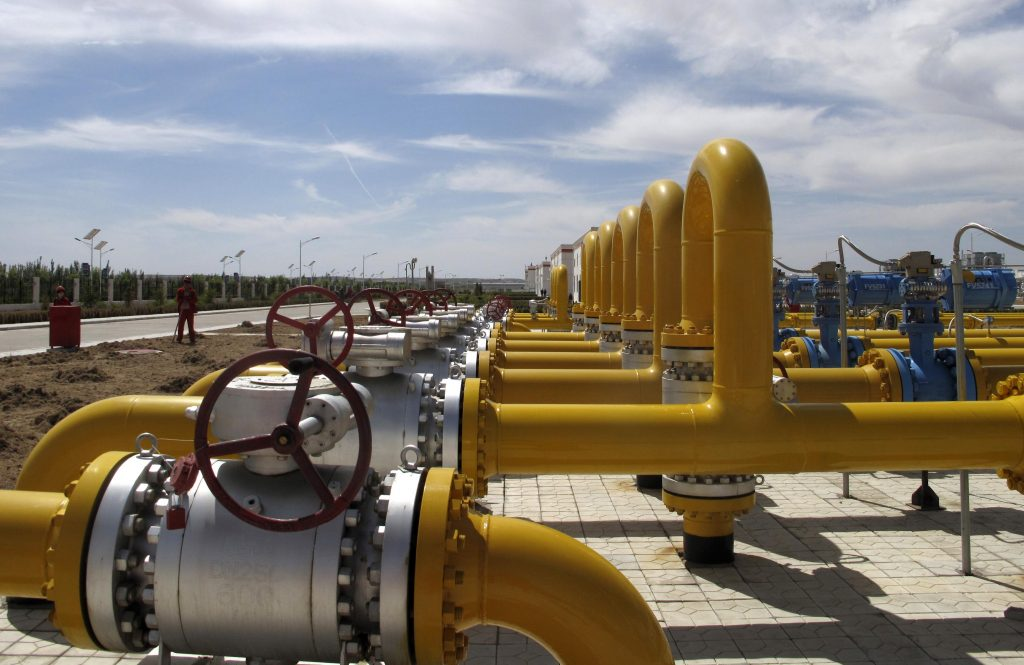 A natural gas processing plant in Sulige, Inner Mongolia. China and Russia signed a US$400 billion natural gas supply deal via an eastern route in May last year.