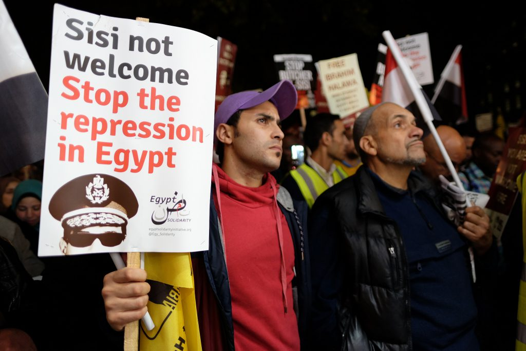 President Sisi not welcome / Middle East