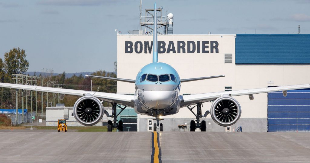 Bombardier wins surprising victory over Boeing