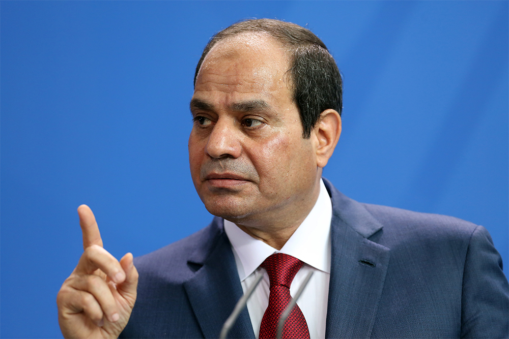 Egypt's Abdel Fattah al-Sisi launches presidential bid after greatest rival arrested