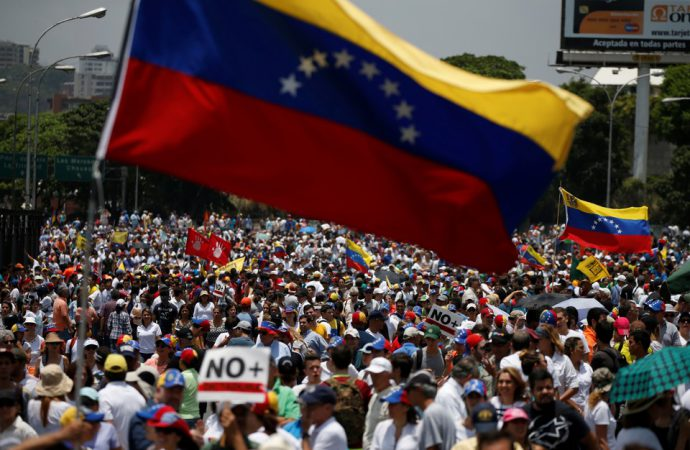 Anti-Maduro protestors to take to the streets of Venezuela on anniversary of revolution