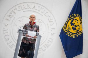 International Monetary Fund releases quarterly update of global economic outlook
