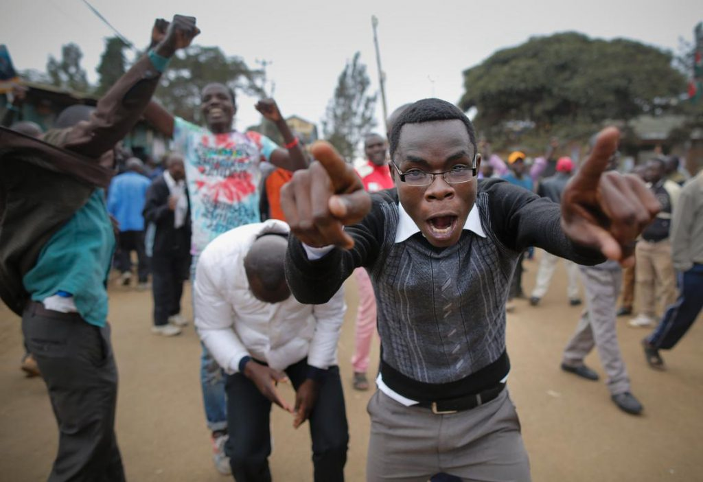 Kenya police fire teargas at demonstrators demanding TV stations reopen