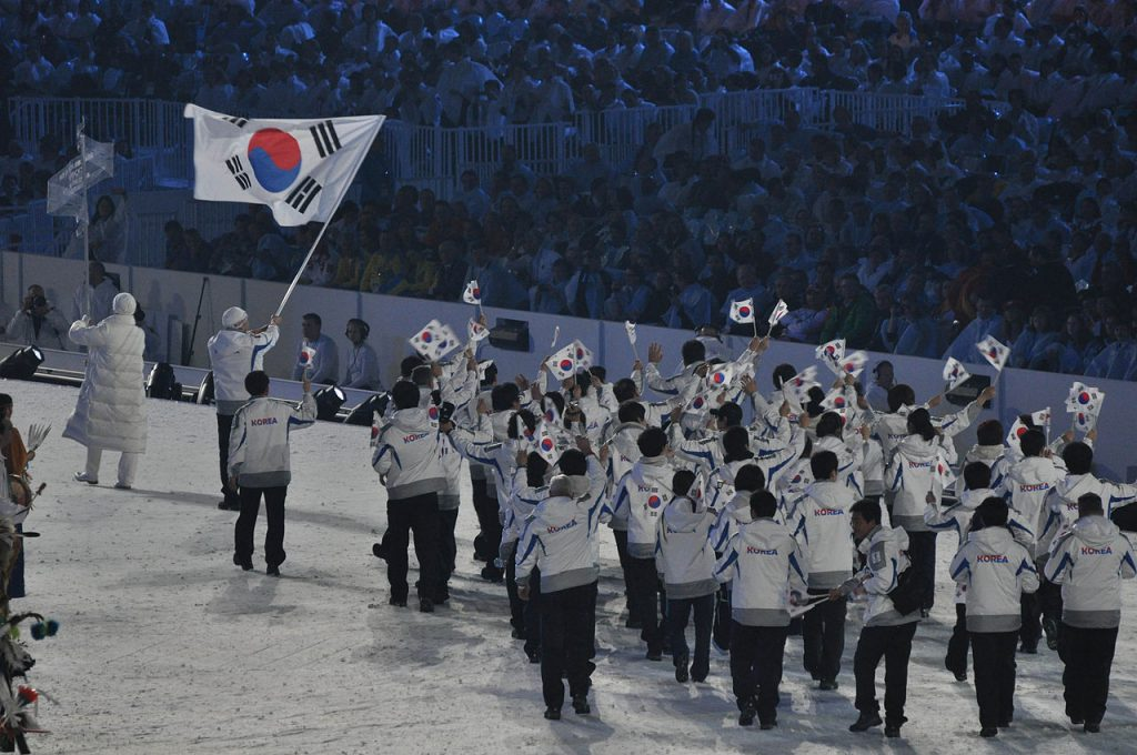 South Korean Olympic March 2010 / Pyeongchang Olympics