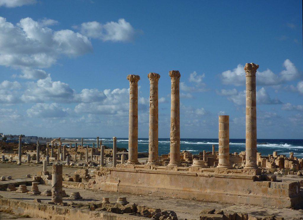 Sabratha - Jupiter-Tempel / Libya deal