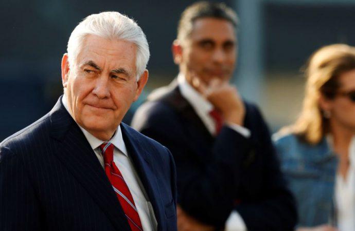 Secretary of State Tillerson rallies support for Venezuela sanctions