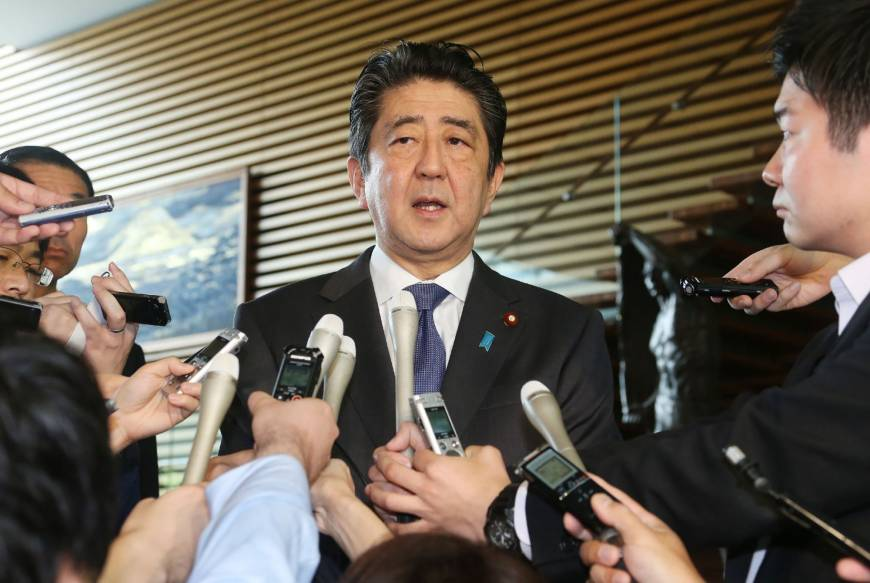 Japan PM Abe Apologises Over Ministry Land-Sale Document Alterations
