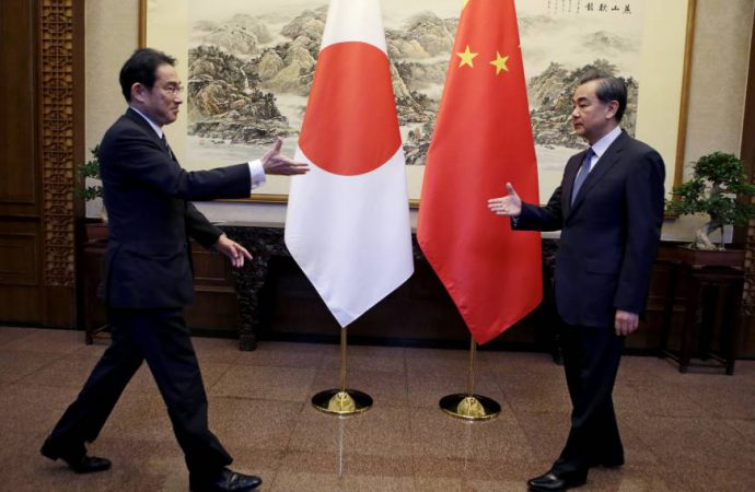 China and Japan hold high-level trade talks as trade deal nears