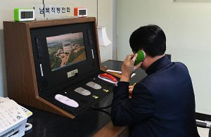 North and South Korea to re-introduce hotline ahead of key summits