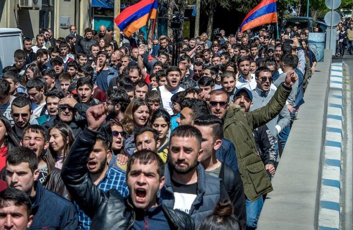 Opposition support demonstrations expected ahead of key vote for Armenian prime minister