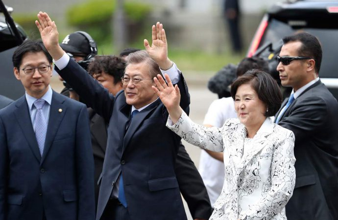 South Koreans set to continue backing President Moon's agenda in local elections