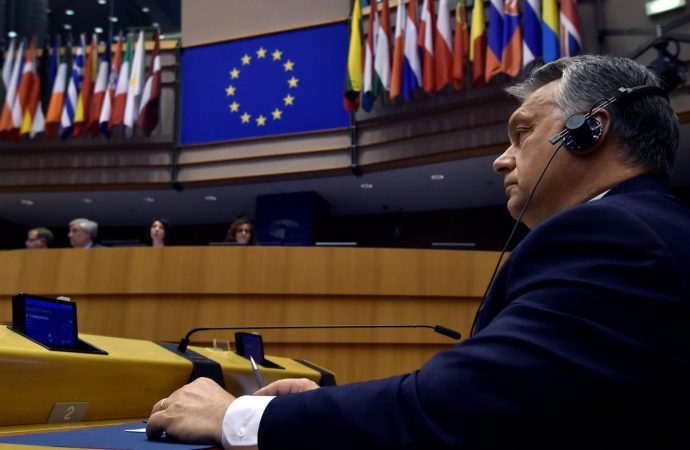 Hungary's Viktor Orban to address European parliament ahead of Article 7 vote