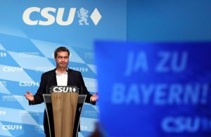 Bavarian CSU faces loss of absolute majority in state parliament as voting begins