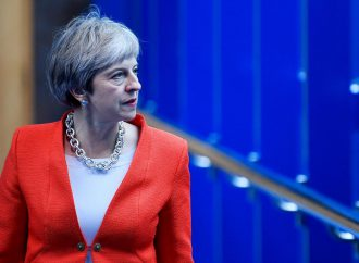 UK PM closes Conservative party conference with speech focusing on Brexit and the EU