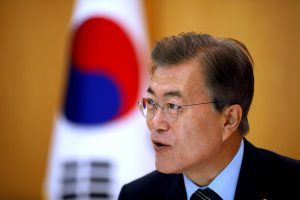 South Korean President Moon begins Europe tour for discussions on trade and North Korea