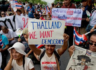 Pro-democracy demonstrations resume in Thailand as Junta admits to election delays