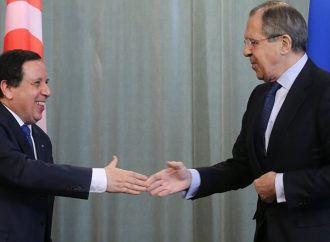 Russian foreign minister wraps up three-day North Africa tour with an eye on Libya