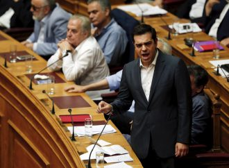 Greek PM Tsipras likely to survive confidence vote, table Macedonia deal