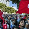 Tunisia's civil servants protest for higher pay but state to stick to austerity