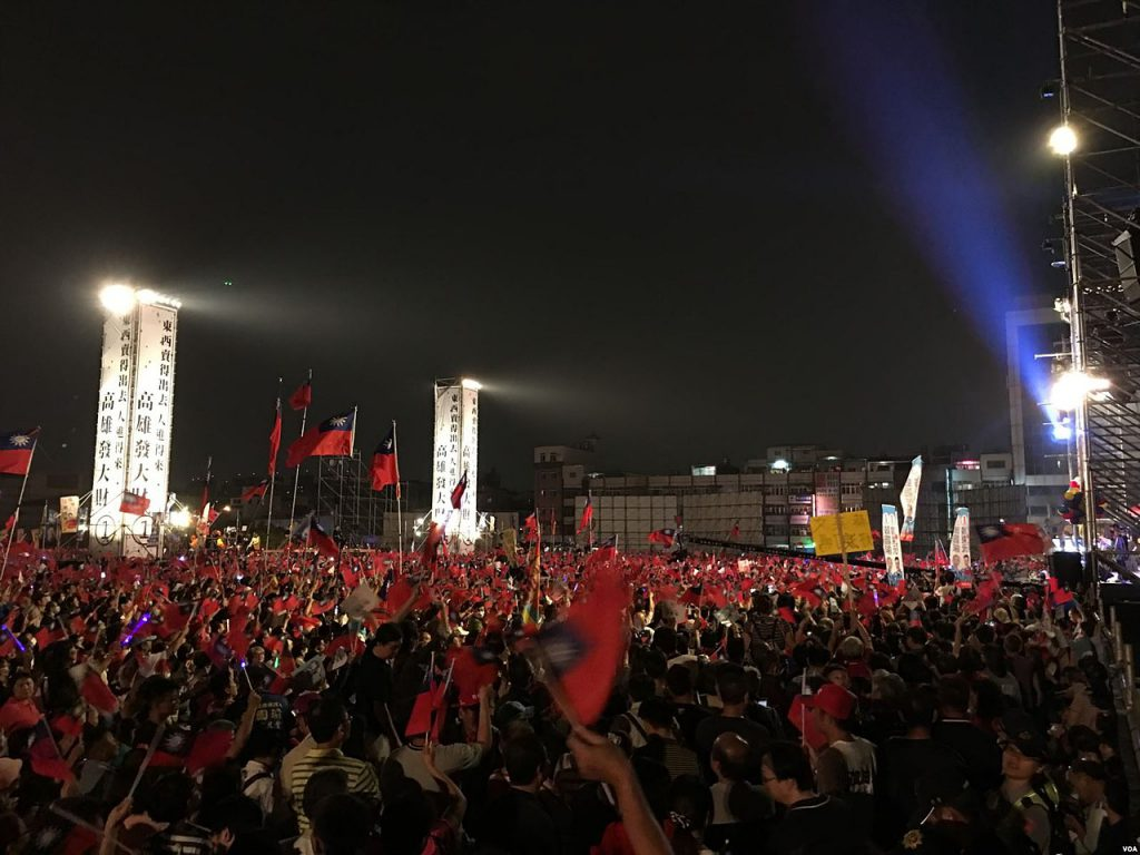 The campaign rally of Han Kuo yu in Fengshan Kaohsiung / Taiwan's 2020 election