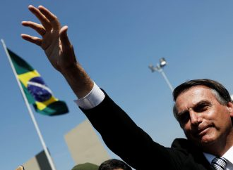 Brazil strikes against controversial pension reforms.