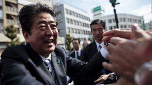 japan election campaign