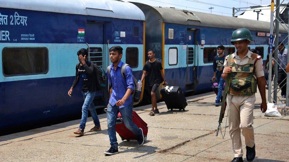 India rail security