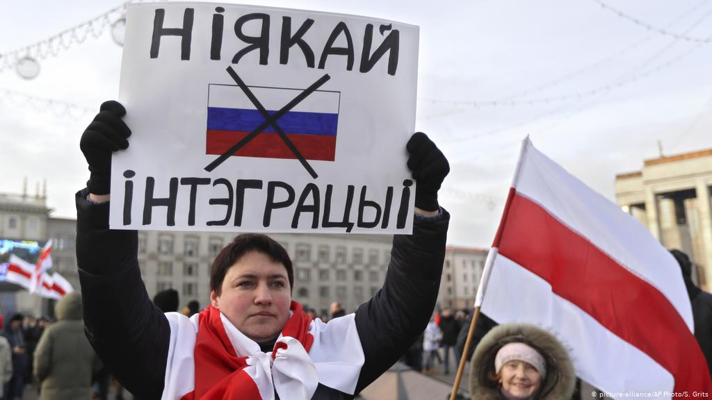 anti russia protests belarus